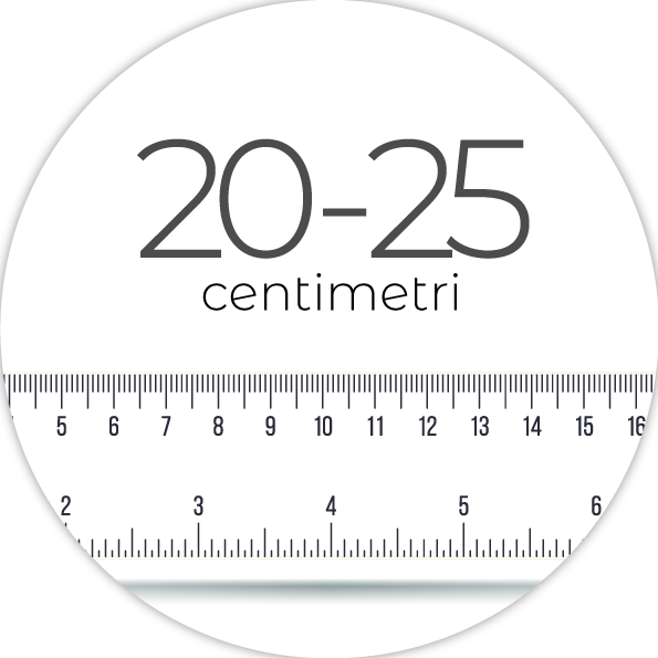 20-25 cm
