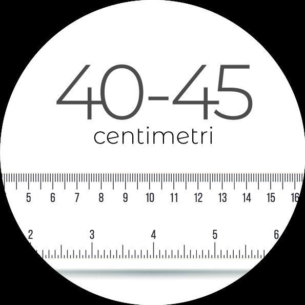 40-45 cm